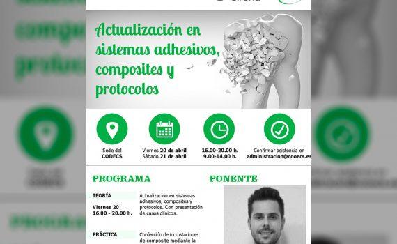 Curso teórico-práctico Actualización en sistemas adhesivos, composites y protocolos – Castellón