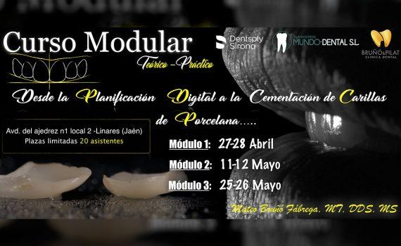 Curso Modular Desde la Planificación Digital a la Cementación de Carillas de Porcelana – Jaén